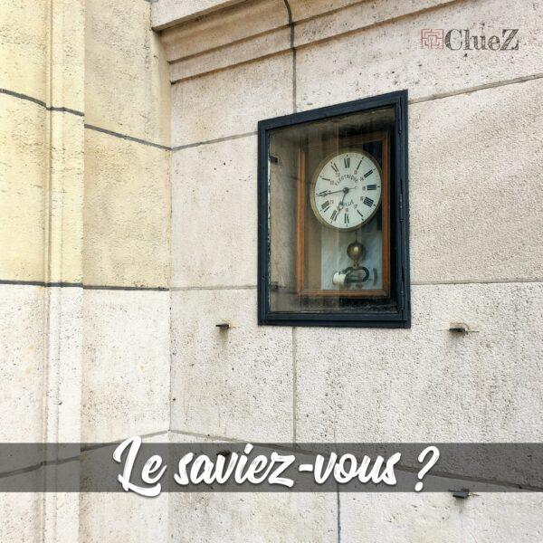 Horloge Sorbonne